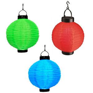 Image Is Loading 3 Pack Solar Ed Led Chinese Lantern 10