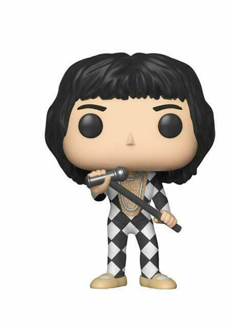 Queen Funko Figurines Pop Vinyl 33731 Freddie Mercury Collectible Figure Rocks Multcolour