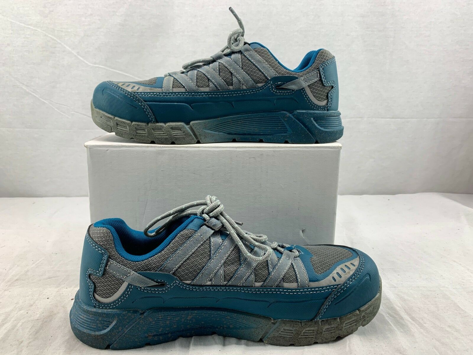 Keen Utility 1017074 Women's Aluminum Toe ESD Work shoes Ink bluee Eggshell 9.5 W