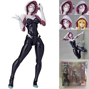 Marvel-Legend-Gwen-Stacy-Spider-Gwen-NO-004-Action-Figure-Revoltech-Kaiyodo-Toy