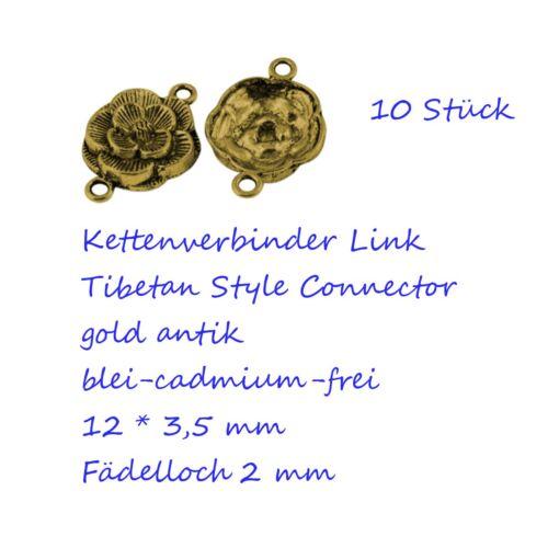 6-10 Kettenverbinder Links Zwischenstück Chandelier Chain Ohrhänger Verbinder
