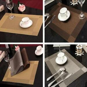 Image Is Loading NEW 4Pcs Insulation Plate Mats Heat Cup Mat