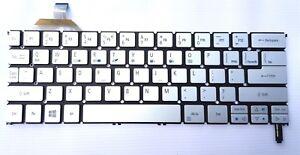 New and original Acer Aspire S7-392 S7-393 nordic keyboard tastatur backlit