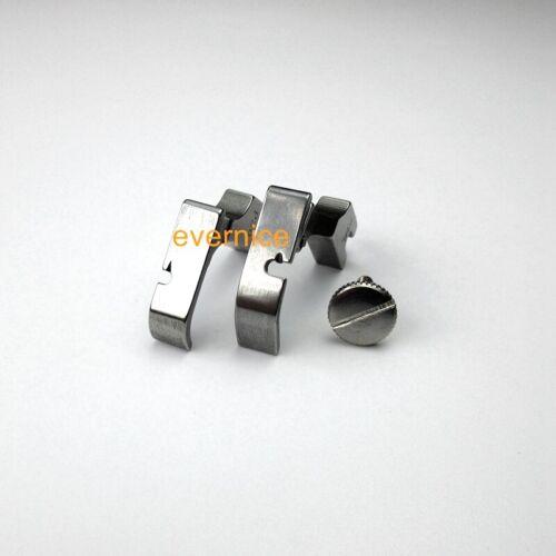 Klappbarer linker und rechter Zipper Cording Foot Set für Singer 95 191D 195K