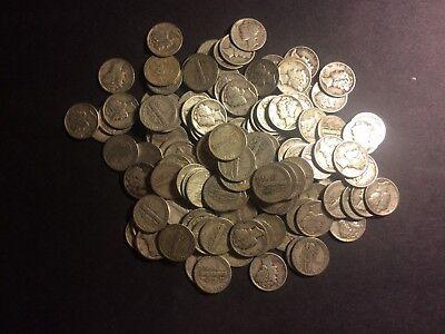 $6.00  US 90/%  Junk Silver Circulated Coins Washington Quarters  Pre 1965 ONE 1