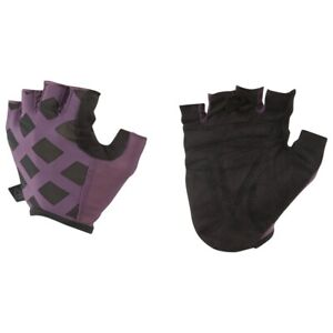 Reebok-Ladies-Studio-Gloves-Size-L-Purple-Black-RRP-30-Brand-New-DU2844