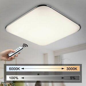 36W Dimmbar LED Deckenleuchte Deckenlampe Flur Küche Dimmbar ...