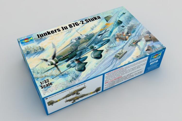 03218 Trumpeter 1 32 Ju87G-2 Stuka Bomber Model Fighter Aircraft Battleplane