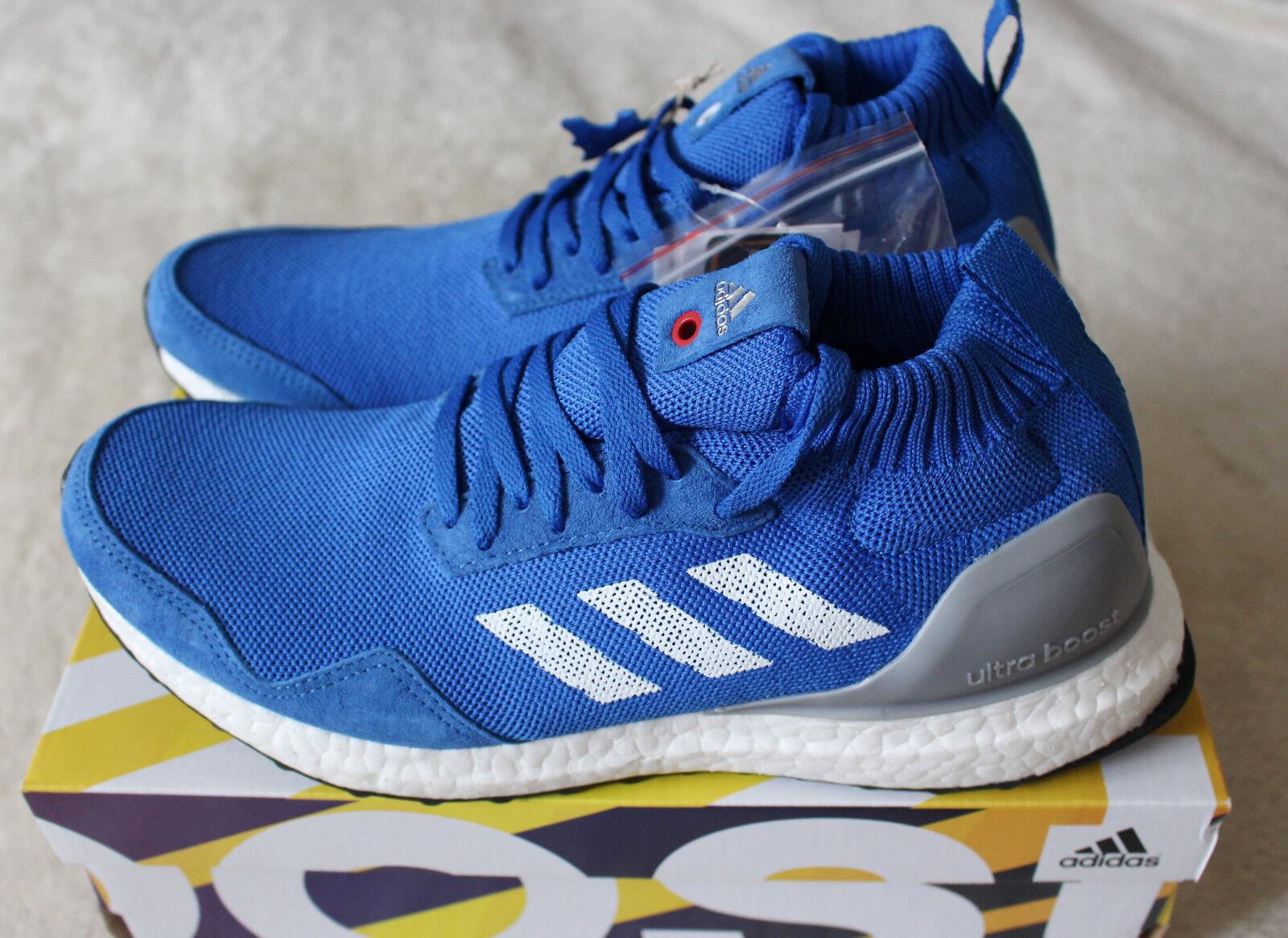 New New New Adidas Consortium Ultra Boost Mid Run Thru Time Blau grau BY3056 UK 8 US 8.5 4486a9