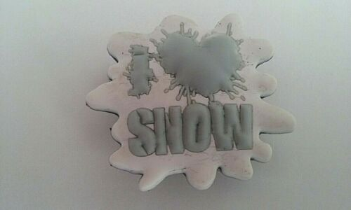 Love Snow Charm NWT  snowflake Genuine Jibbitz I Heart
