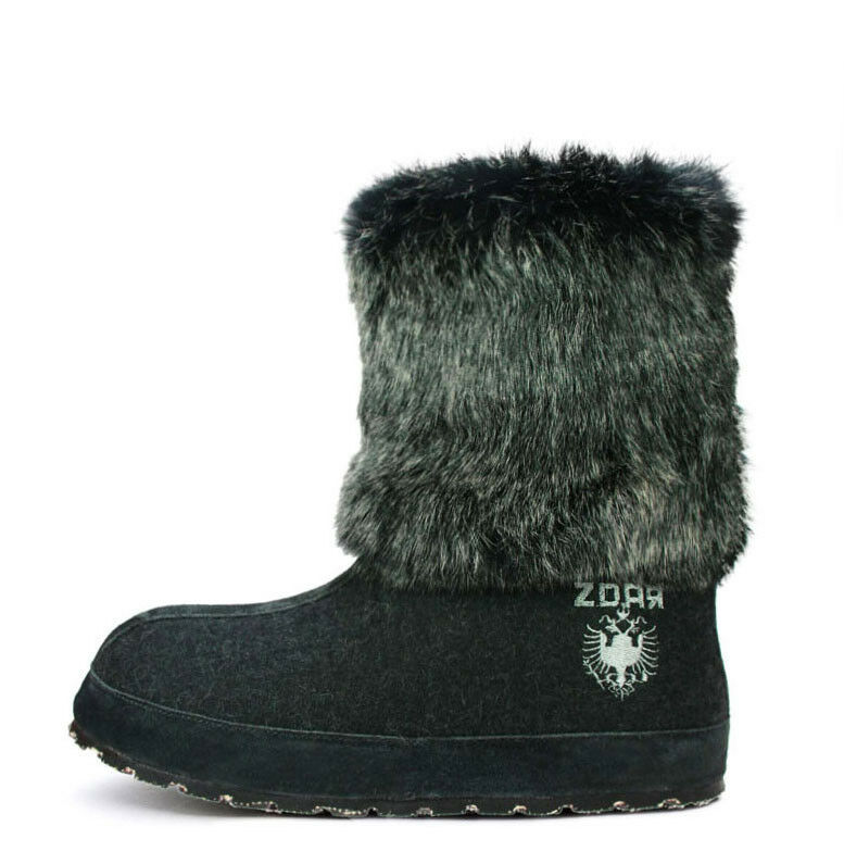 ZDAR Nikita Low Charcoal Boots Size 6, 7, 8, 9, 10 Available- Brand New