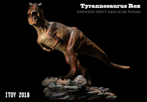 ITOY Rexy Tyrannosaurus Rex Statue Trex Dinosaur Model Collector Decor Toy Gift