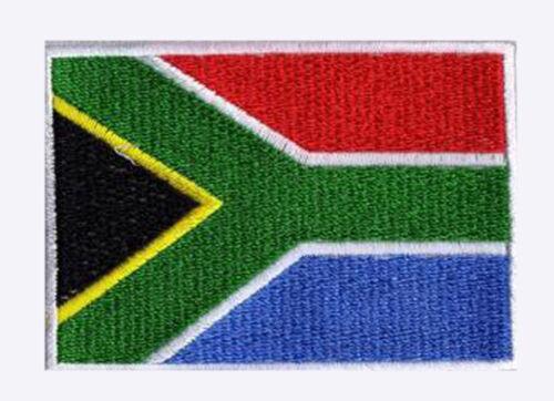 Patch écusson patche AFRIQUE DU SUD 70 x 45 mm pays monde à coudre
