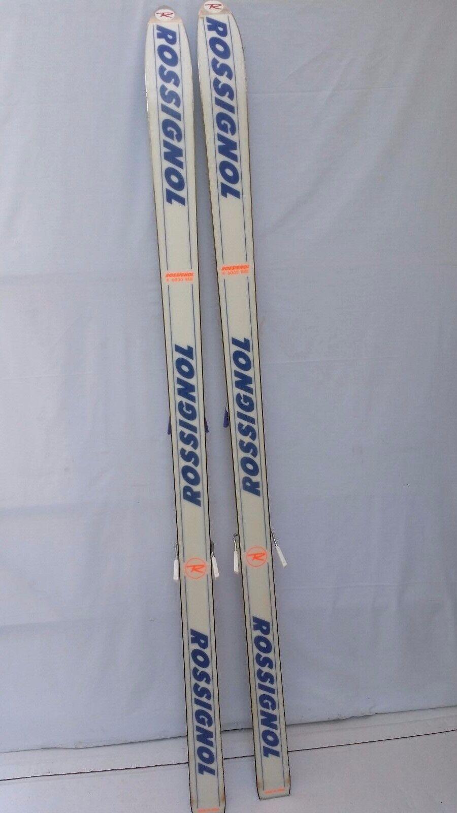 Rossignol R 6000 Base Skis Series 3 with Salomon Quadrax Bindings