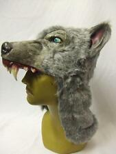 Grey Wolf Hemlet ~ Ghoulish Productions ~ Latex Rubber mask ~ Halloween