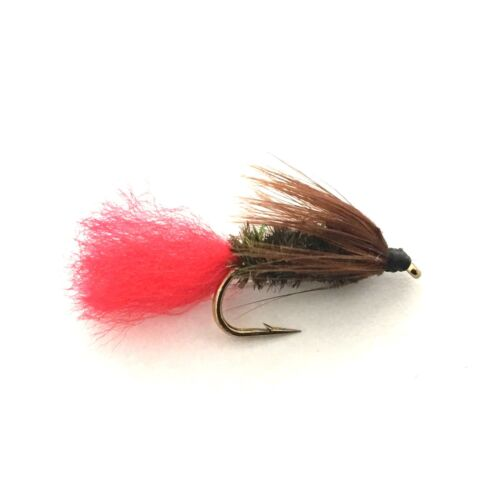 6 x Red Tag Fly Fishing Wet Flies For Trout and Salmon
