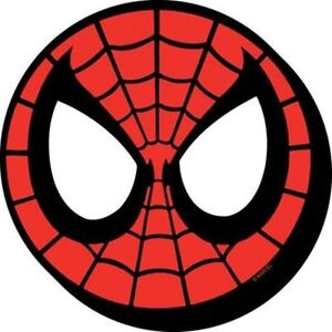 Marvel-The-Amazing-Spider-Man-Mask-Face-Image-Chunky-3-D-Die-Cut-Magnet-NEW