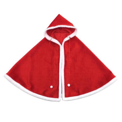 MagiDeal 1 6 Christmas Cloak Xmas Cape Kleidung für 12 Zoll Action Figure