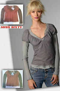 Top-MISS-SIXTY-manga-larga-NEW-with-tags-Blouse-long-sleeves-60