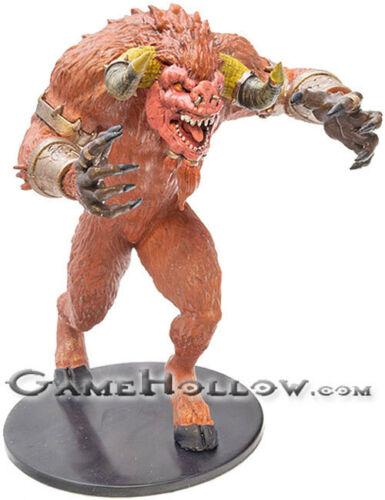 D/&D Miniatures Waterdeep Dungeon of Mad Mage GORISTRO #31 HUGE Fiendish Minotaur