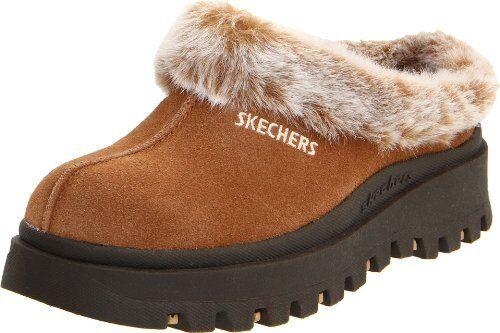 Skechers Damenschuhe Clog Fortress Clog Damenschuhe Slipper- Select SZ/Farbe. e1e350