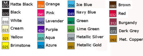 Fish Hook vinyl sticker decal U Pick Color /& Size