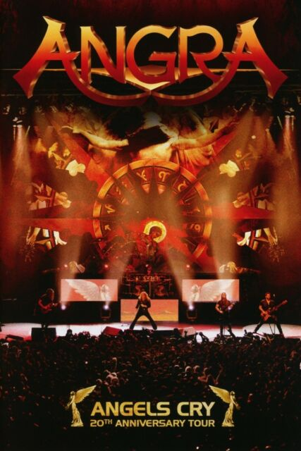 ANGRA - ANGELS CRY - 20TH ANNIVERSARY TOUR