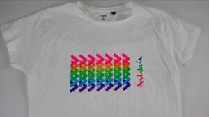 Junta De Andalucia Spain T-Shirt Juniors XL Espanol Tee Womens SZ S/M Colorful