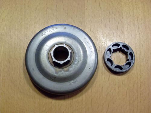 Kettenrad passend für Dolmar 112-120 116SI-120SI 3//8 Teilung
