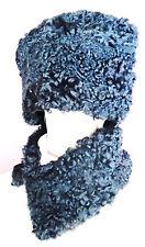 TRENDY Cossack Hat Real Persian Astrakhan Karakul Lambs Fur New l. sable mink