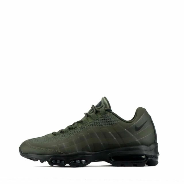 3c41c61e62 Nike Air Max 95 Ultra Essential Size UK 6 Mens Trainers Cargo Khaki /Black  BNIB
