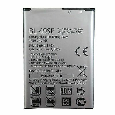 Lg Li Ion Battery >> Original Replacement Battery For Lg G4s Lg G4 Beat Mini 100 Genuine Bl 49sf Oem For Sale Online Ebay