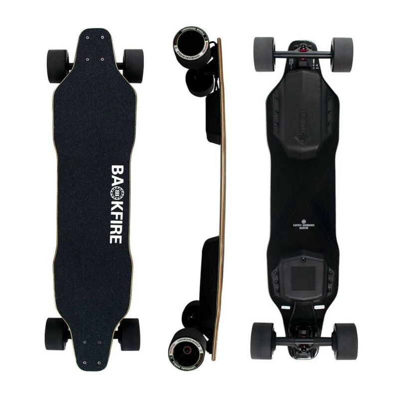 Backfire Electric Skateboards - pre-order 10% DISCOUNT off: Mini R 9900, G3 R11900 and G3+ R 14900