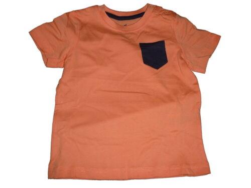 NUOVO Lupilu fantastico T-SHIRT Tg 110//116 arancione con piccolo blu scuro borsa!