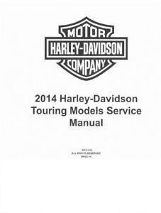2017 Harley Davidson Street Glide FLHX FLHXS FLHXSE Service Manual On CD