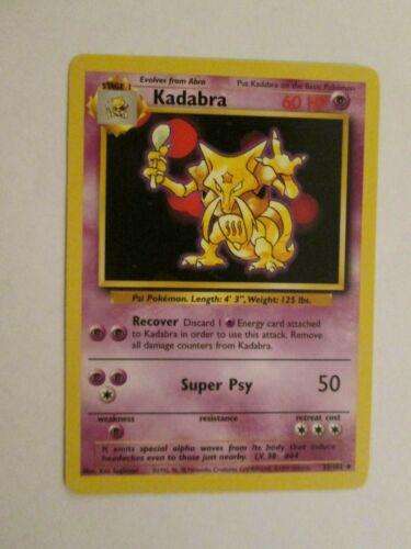 Kadabra 32//102 PKBase032 Base Uncommon