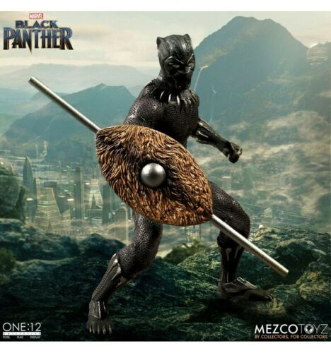 Marvel Universe Black Panther Mezco One 12