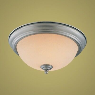 New Jeremiah Lighting 1 Light Flushmount Aged Pewter Finish 20011 Ap 14432 Ft Ebay