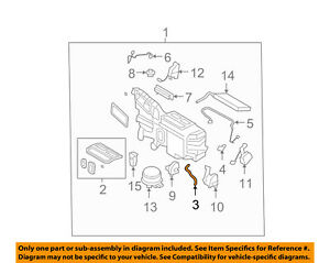 air conditioner drain diagram ford oem a c ac evaporator heater drain hose 7t4z19728a ebay  ford oem a c ac evaporator heater drain