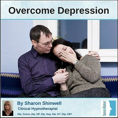 Overcome Depression CBT & Self-Hypnosis CD By Clinical ...