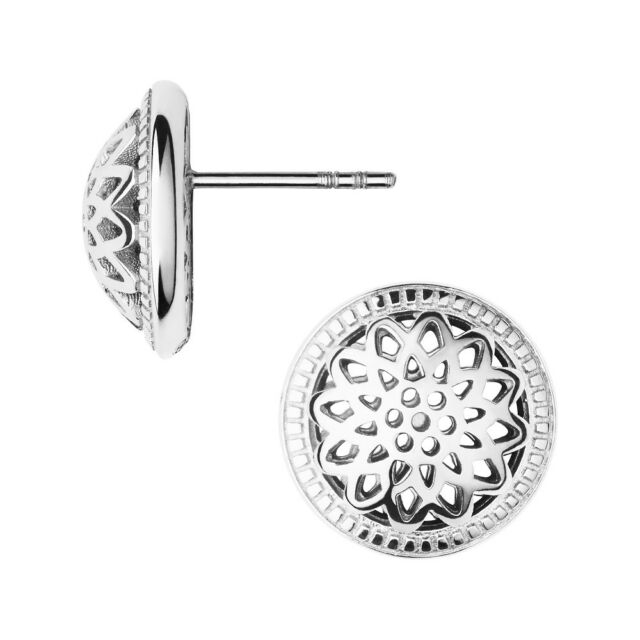 bed37fa67 New Links Of London Womens Jewellery Thames Sterling Silver Stud Earrings