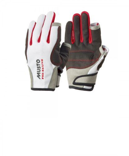 Handschuhe Weiss Bootsport Musto Segelhandschuh Essential L/F lang
