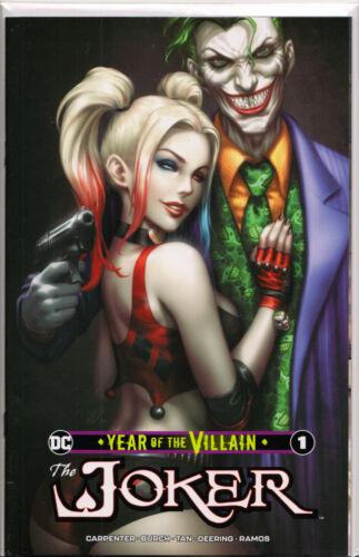 "JOKER ~ DC Comics KENDRICK LIM /""KUNKKA/"" EXCLUSIVE YEAR OF THE VILLAIN #1"