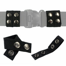 Tactical 4 Pack Belt Keeper 225 Inch Duty Belt Double Snaps Strap Holder