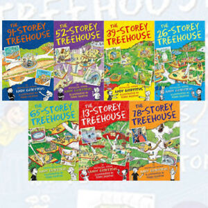 Andy Griffiths 13 pisos Treehouse Serie Colección 7 Libros