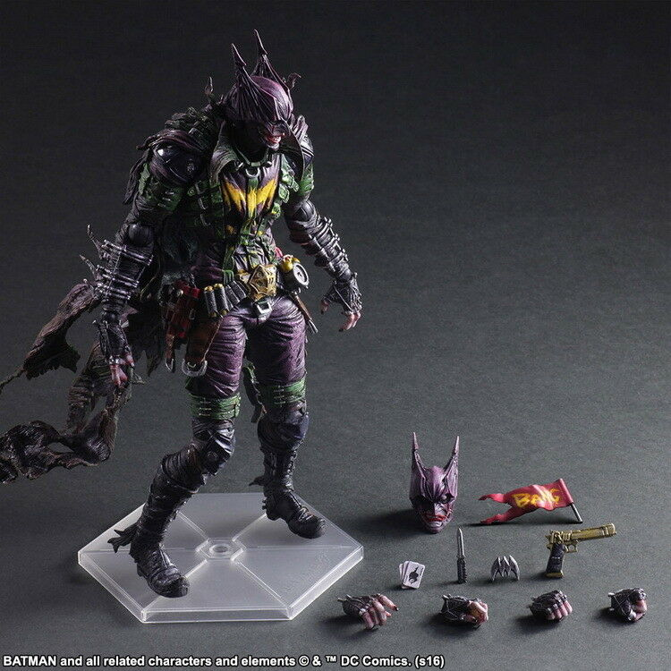Comics Play Arts Kai Batman Rogues Gallery The Joker Action Figure Model Toy