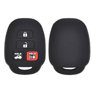 XUKEY Silicone Key Car Cover Case Fob For Toyota Camry Avalon Corolla Highlander