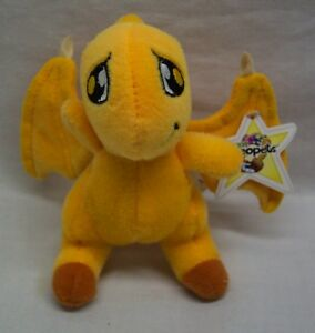 NEOPETS-ORANGE-SHOYRU-4-034-Plush-STUFFED-ANIMAL-TOY-McDonald-039-s-NEW-w-TAG