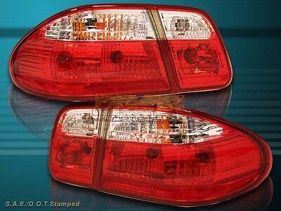 96-02 RED//SMOKE MERCEDES BENZ W210 E-CLASS E300//E320//E430//E55 AMG TAIL LIGHTS