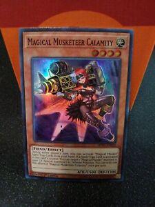 Yu-Gi-Oh Magical Musketeer Calamity SUPER RARE SPWA-de020 NEW!
